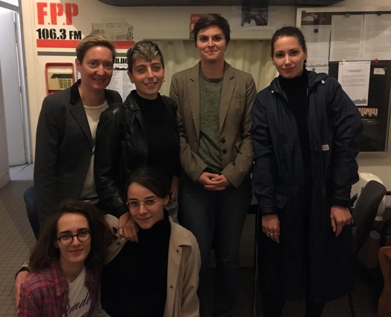 gouinement lundi podcast feministe lesbienne lgbt radio fréquence paris plurielle komitid
